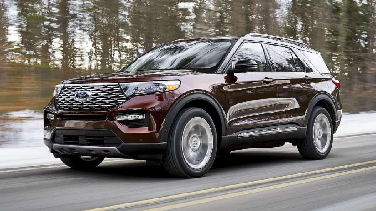 Xe Ford Explorer 2021, Ford 7 chỗ Explorer nhập Mỹ về Việt Nam giá bao nhiêu ? 6