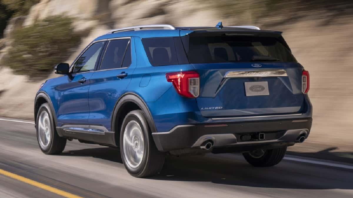 Xe Ford Explorer 2021, Ford 7 chỗ Explorer nhập Mỹ về Việt Nam giá bao nhiêu ? 11