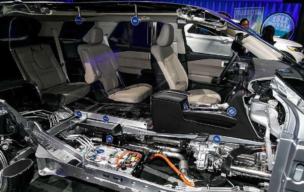 Xe Ford Explorer 2021, Ford 7 chỗ Explorer nhập Mỹ về Việt Nam giá bao nhiêu ? 3