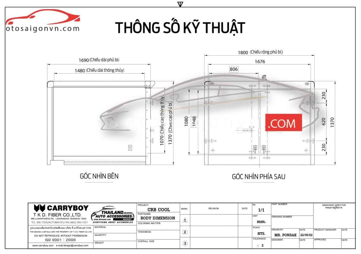Xe ford ranger bán tải thùng đông lạnh 500 kg 750kg mới nhập khẩu từ Thailand. 16