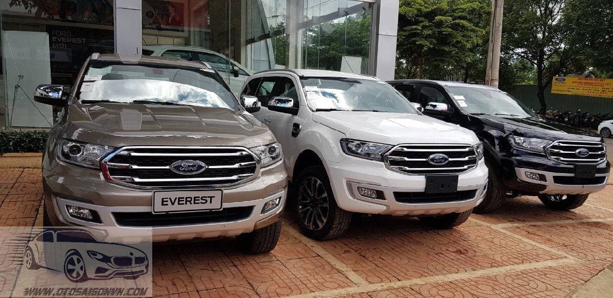 xe ford everest 2 cau so tu dong 4wd 2010