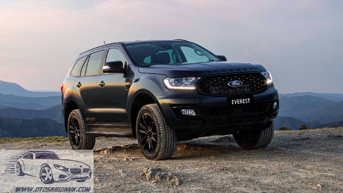 Ford Everest sport 2020 mới ra mắt tại Thailand