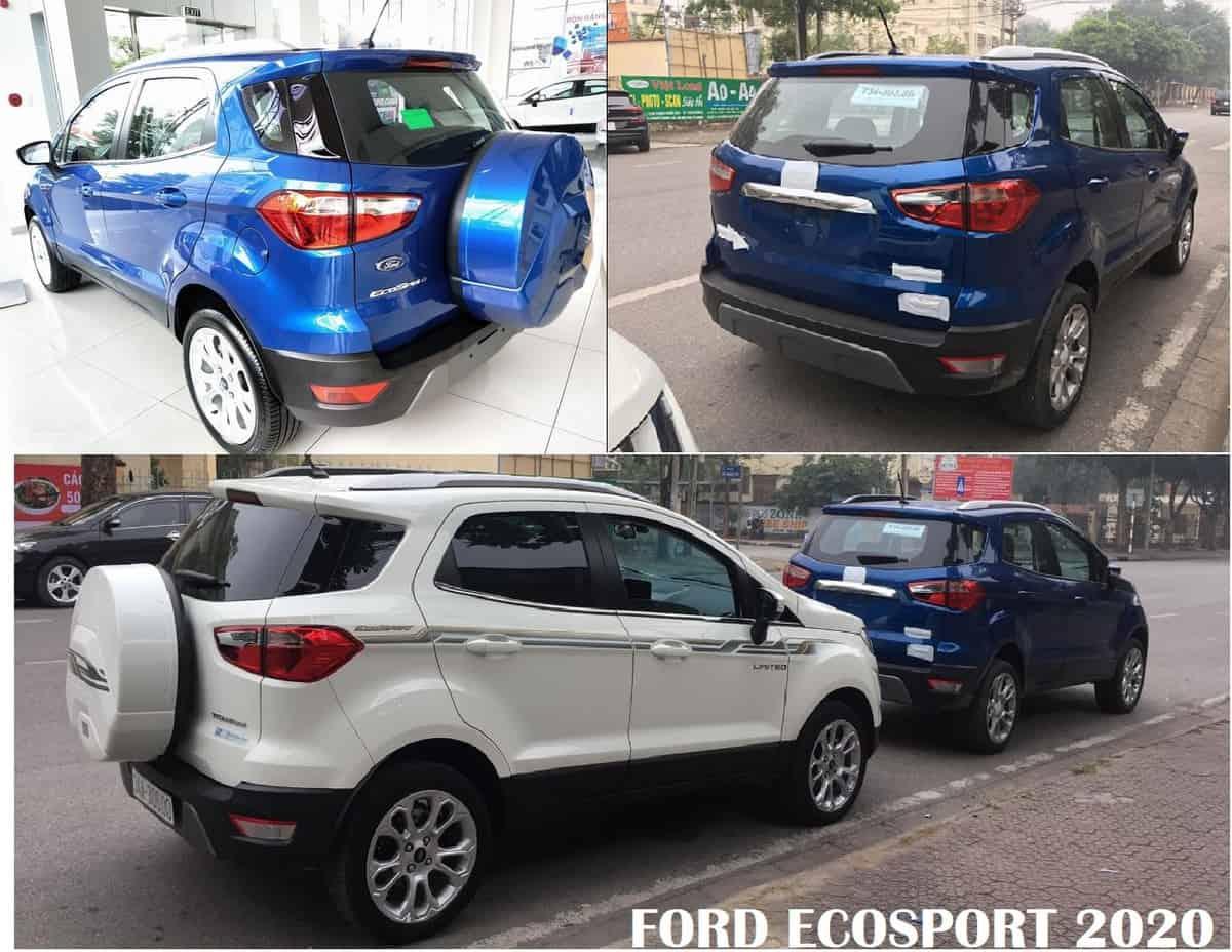 xe ford ecosport 2020 moi ra mat khac 2019