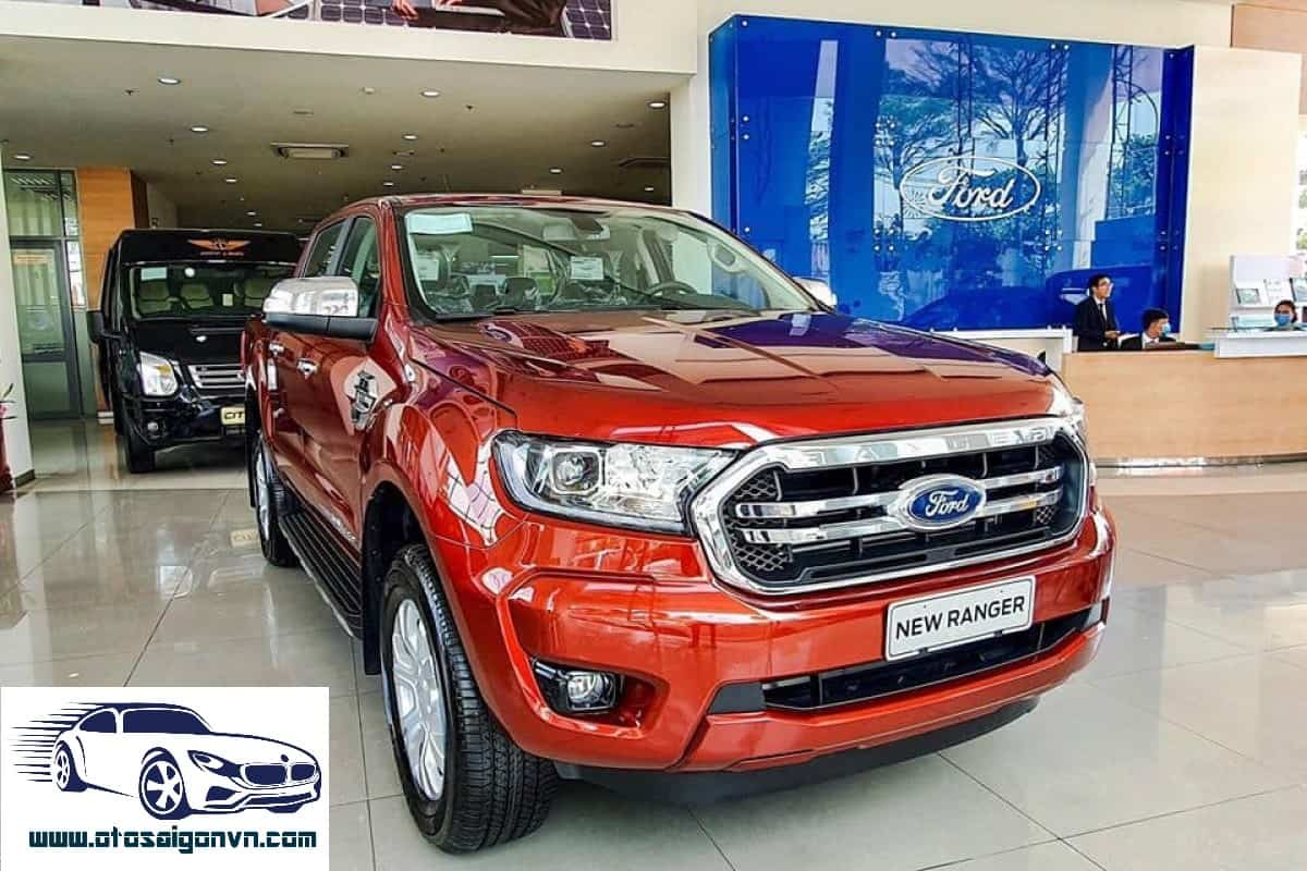 xe ford ranger xlt limited 2 cau so tu dong mau do