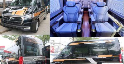 Xe 12 chỗ hyundai Solati 2020, Giá xe Hyundai Solati 2020 mới 12 chỗ City Limo 3