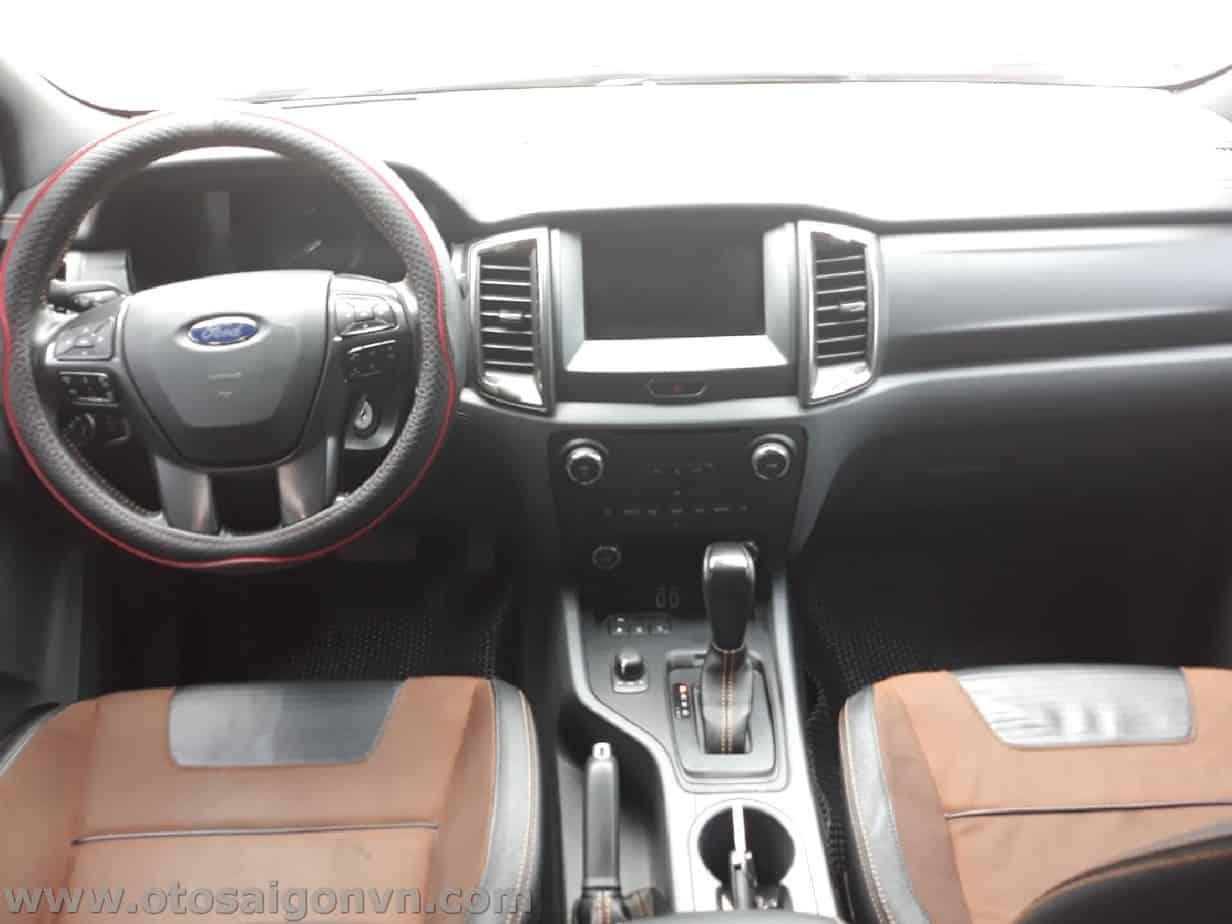 Bán Ford Ranger Wildtrak cũ 2017 qua sử dụng máy 3.2L 8