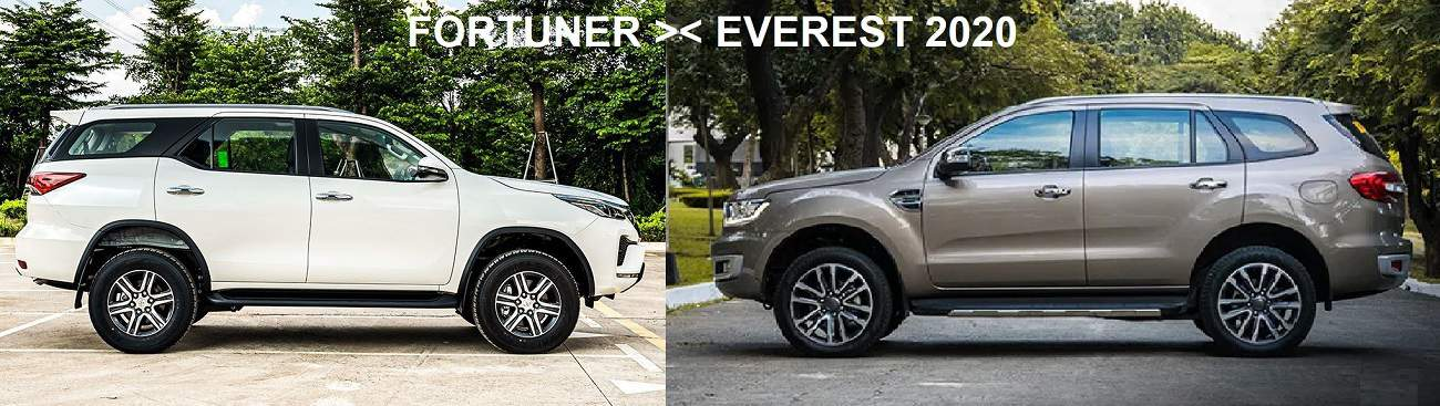 Ngoai that toyota fortuner 2020 ford everest 2020