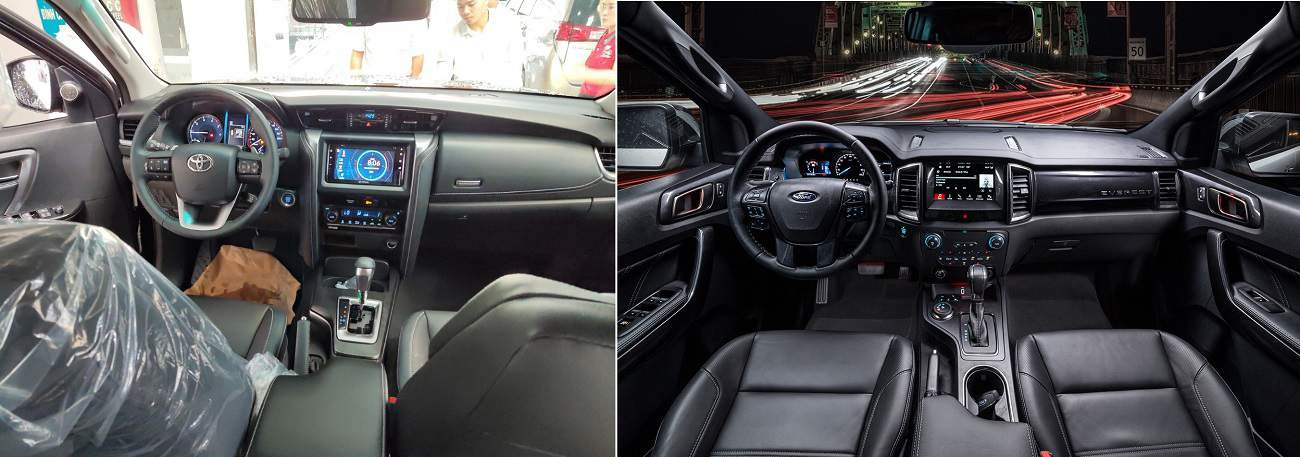 Toyota Fortuner noi that ford everest 2020