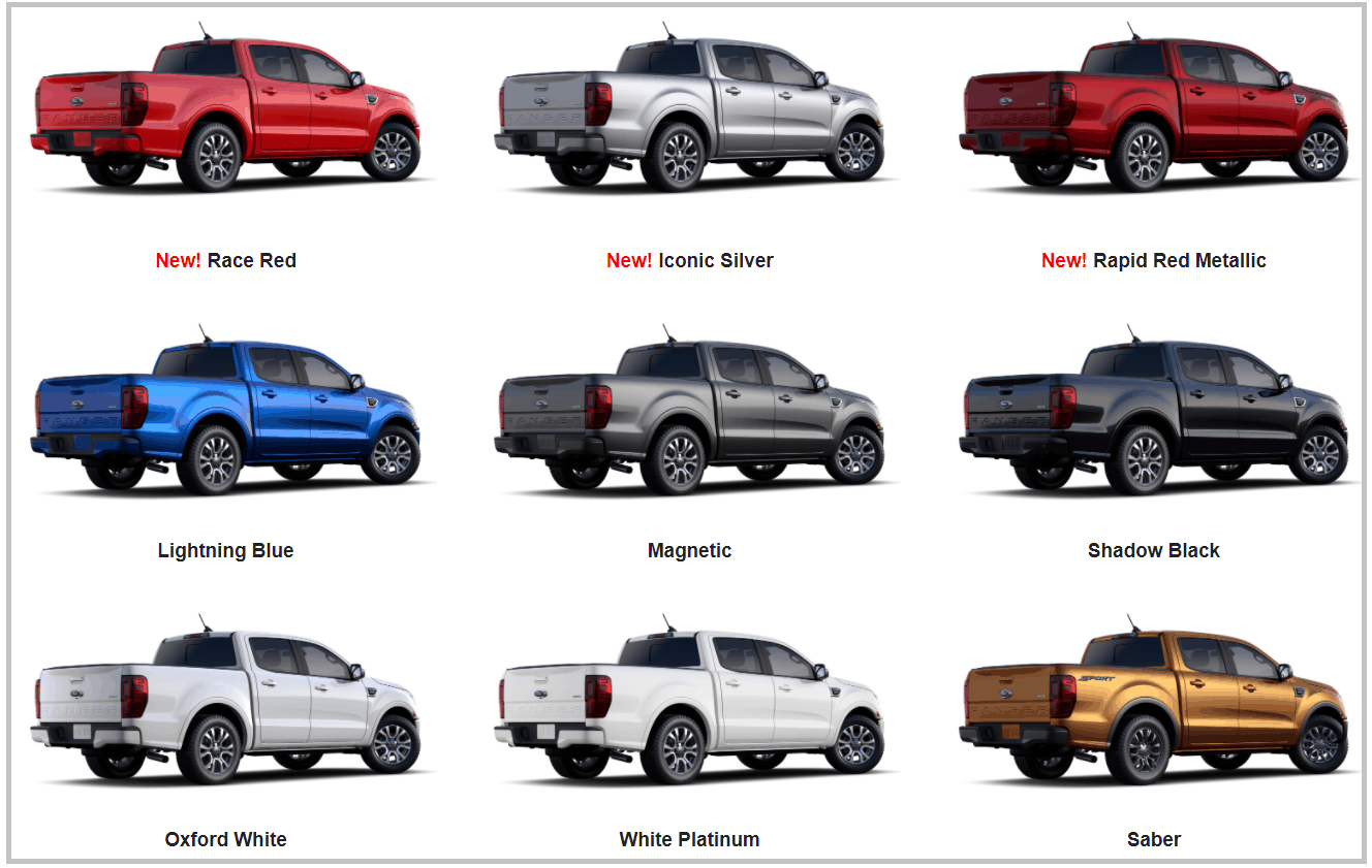 Ford Ranger 2020, Giá bán tải Ranger 2020 mới nhất 6 phiên bản 19