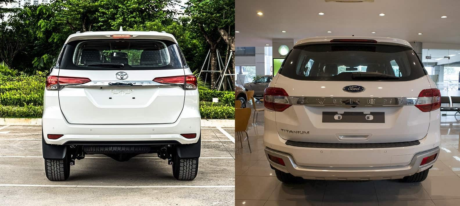 duoi sau toyota fortuner 2020 ford everest