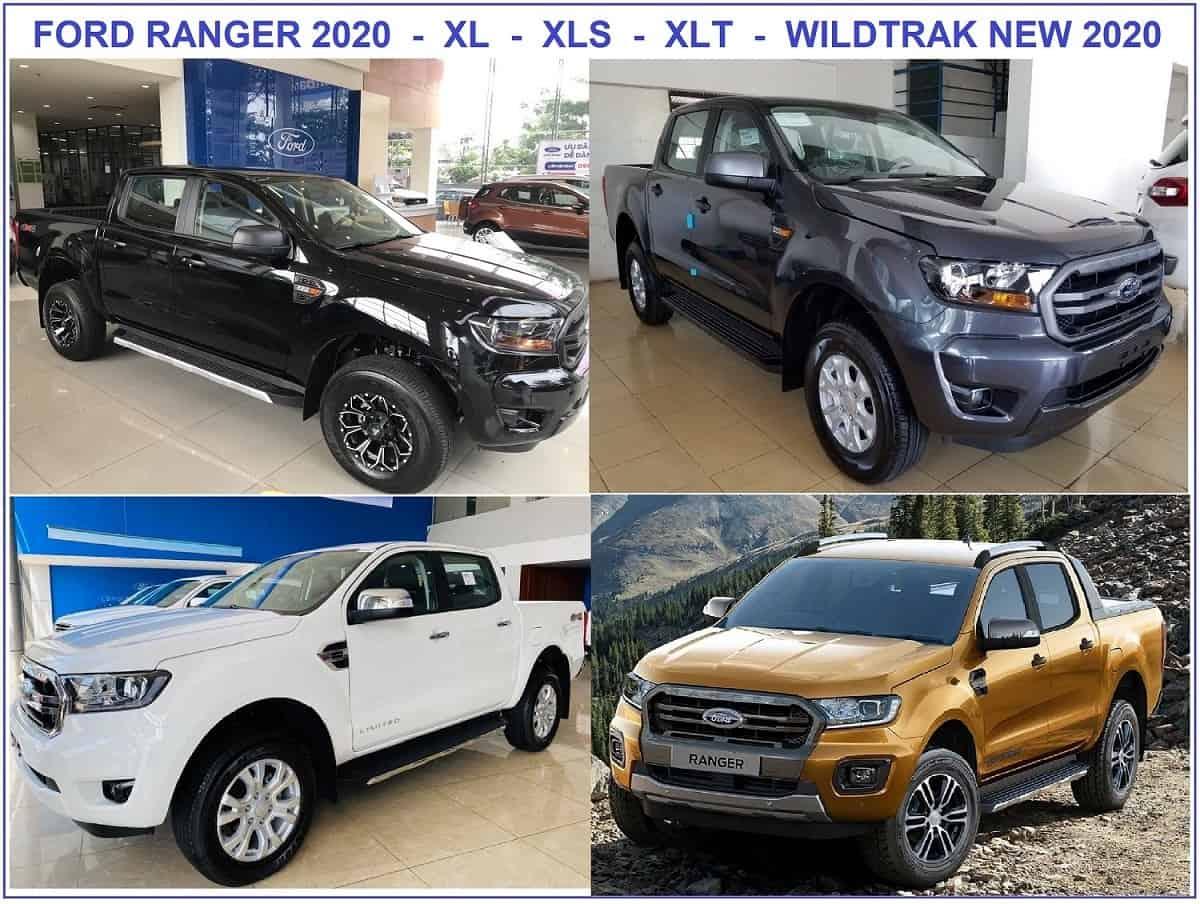 Ford Ranger 2020, Giá bán tải Ranger 2020 mới nhất 6 phiên bản 2