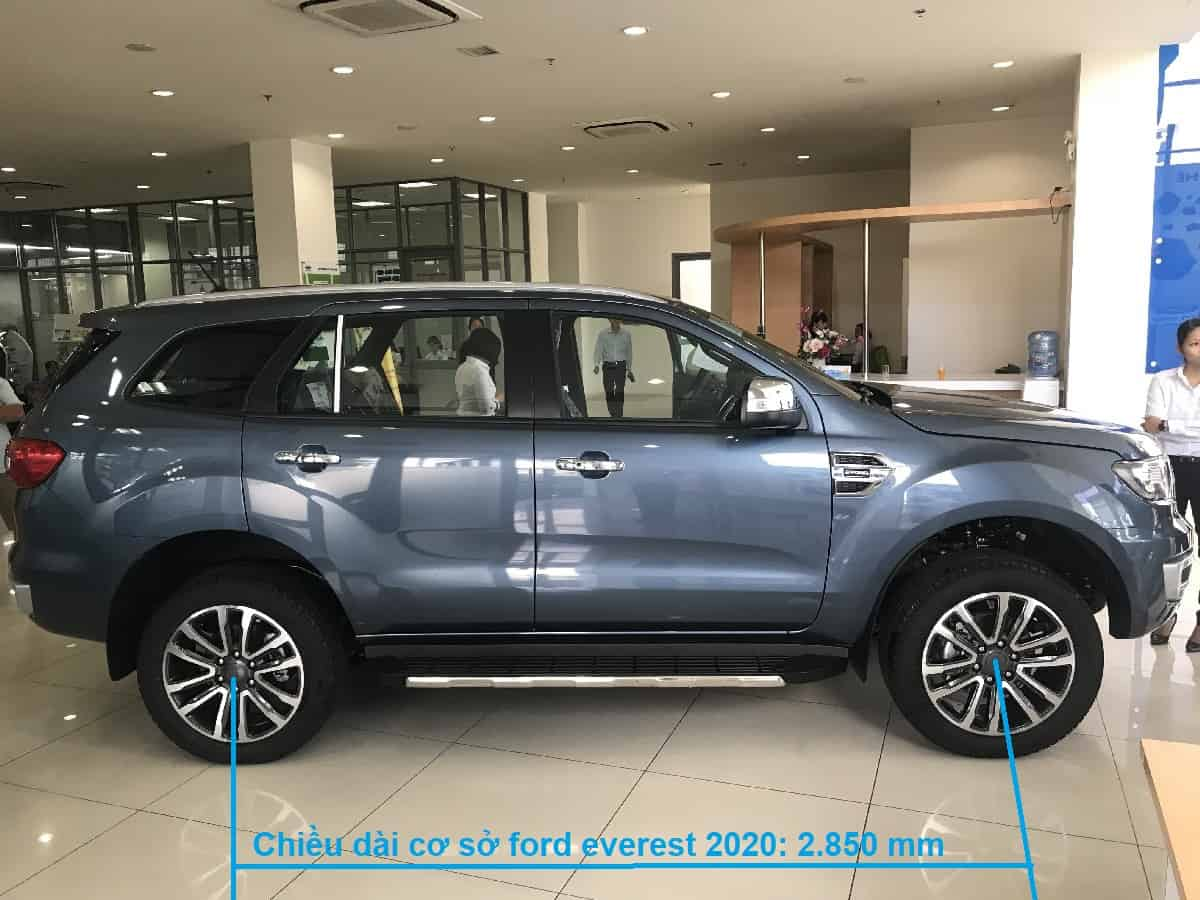 xe ford everest 2 cau so tu dong 4wd 2020