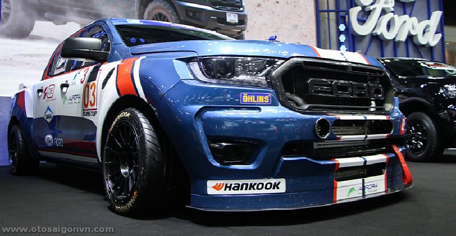 Xe đua Ford Ranger XL Street phiên bản độ Racing 2021 tại Thái Lan. 3