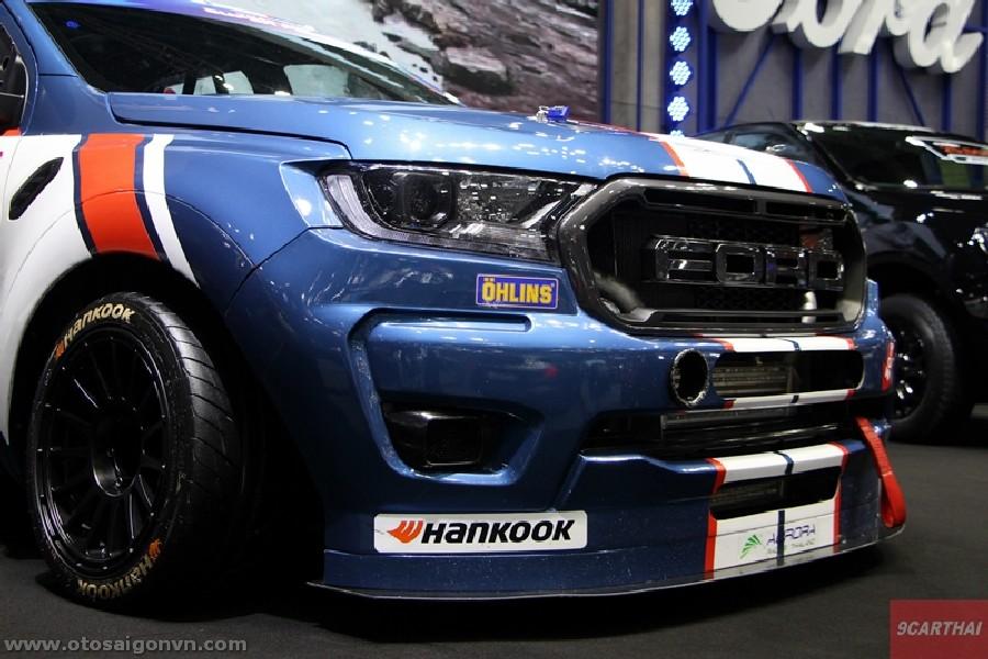 Xe đua Ford Ranger XL Street phiên bản độ Racing 2021 tại Thái Lan. 4