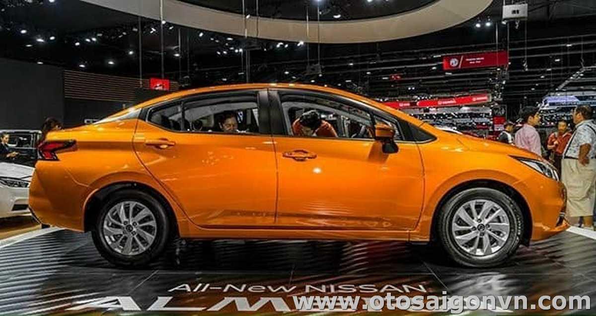 Nissan Almera MT số sàn 2021 1.0L Turbo 6