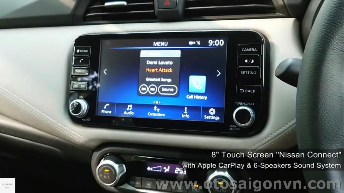 Nissan Almera CVT cao cấp 2021 1.0L Turbo 14