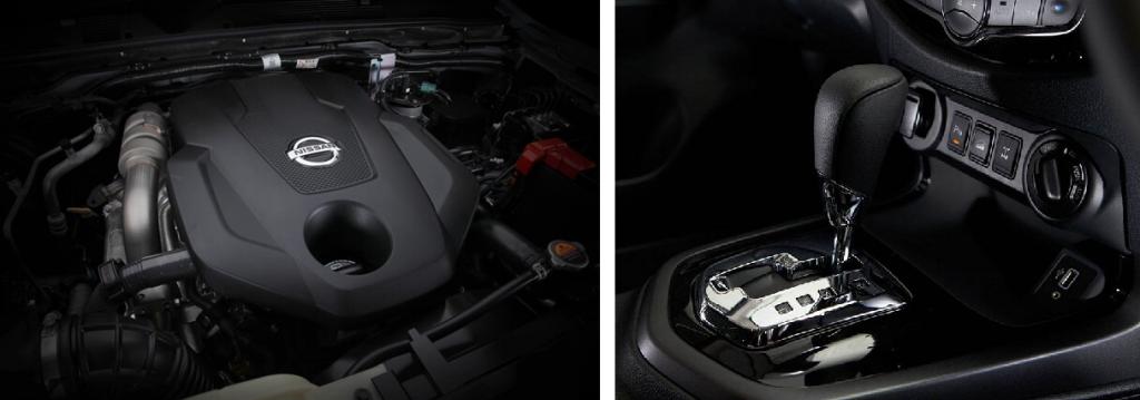 Động cơ Nissan Navara 2021 phiên bản 1 cầu tiêu chuẩn