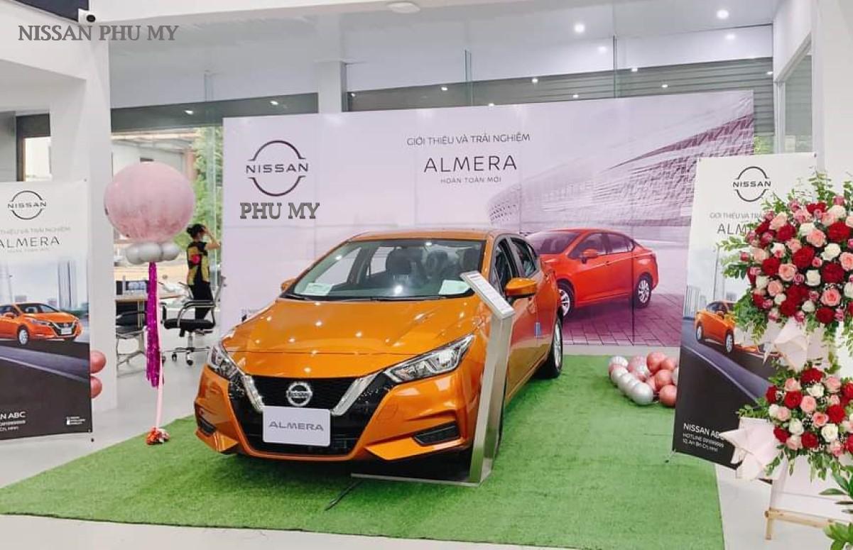 Nissan Almera 2021 mới nhất tại Nisan Phú Mỹ